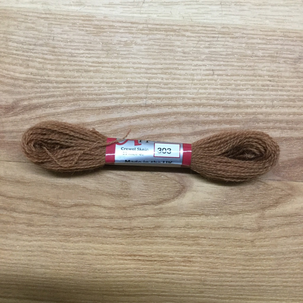 Appleton Crewel Wool 303 Red Fawn-Appleton Crewel Wool-Access Commodities-KC Needlepoint