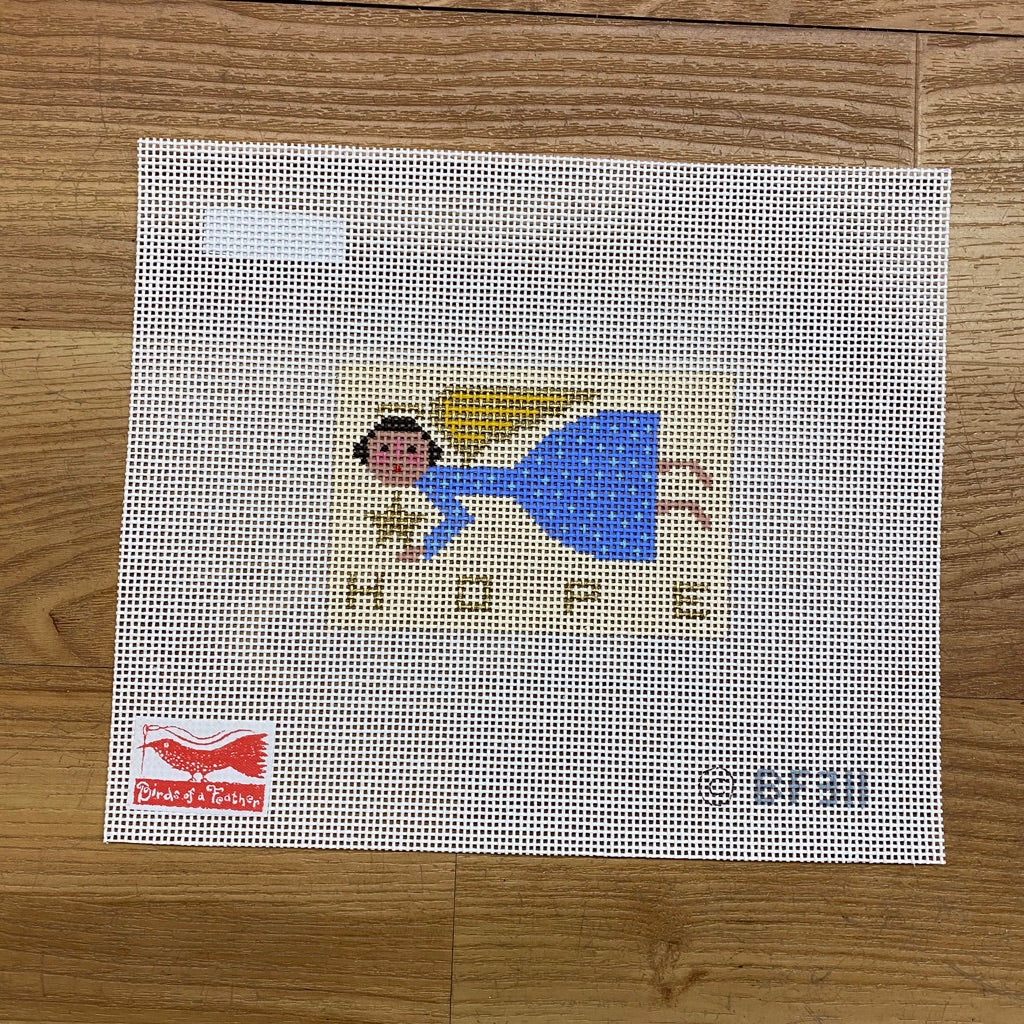 Hope Angel Canvas-Needlepoint Canvas-KC Needlepoint