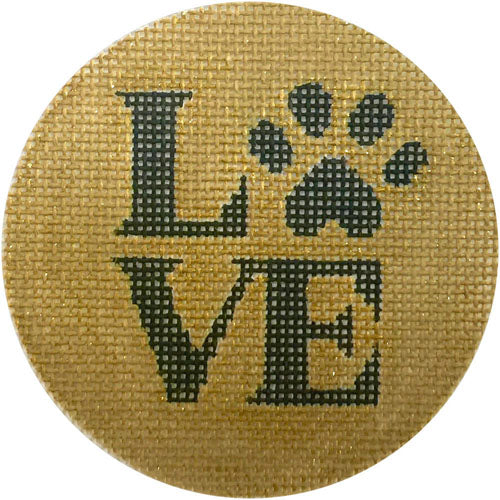 Love Paw Canvas-Needlepoint Canvas-Alice Peterson-KC Needlepoint