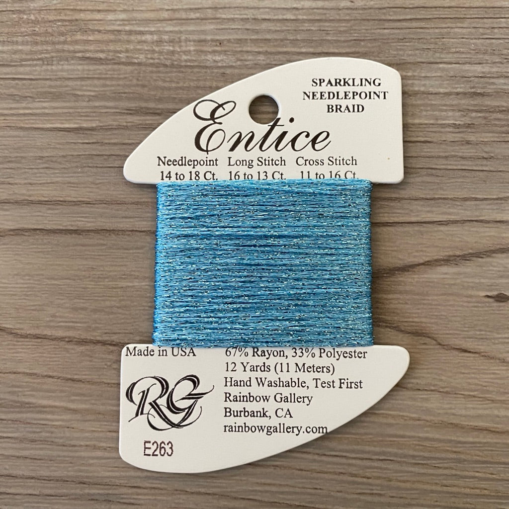 Entice E263 Sky Blue - KC Needlepoint