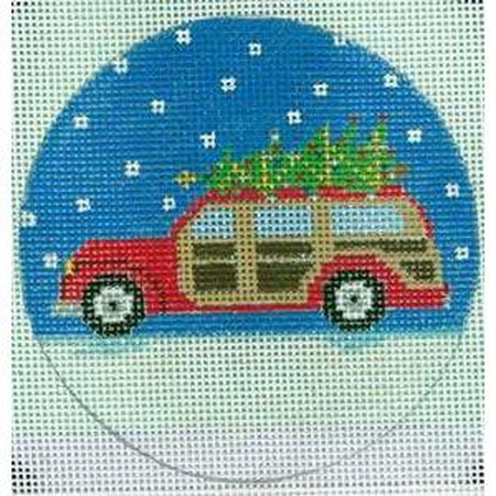 Woody Christmas Canvas - KC Needlepoint