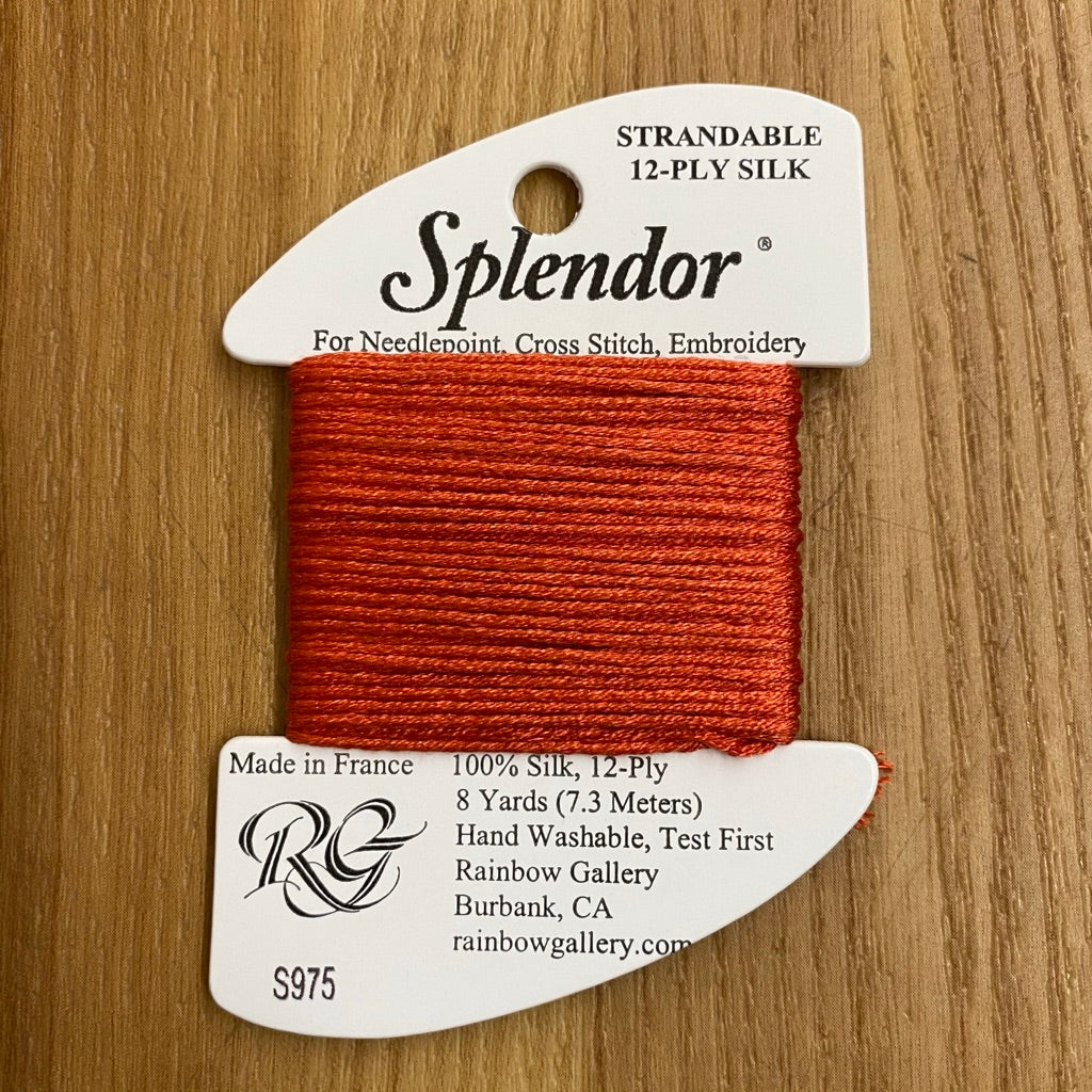Splendor S975 Tomato - KC Needlepoint