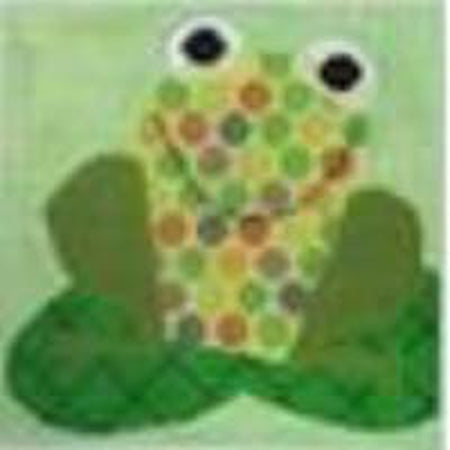 Frog Canvas - needlepoint