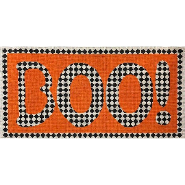 Boo Diamonds Needlepoint Canvas-Needlepoint Canvas-A Stitch in Time-KC Needlepoint