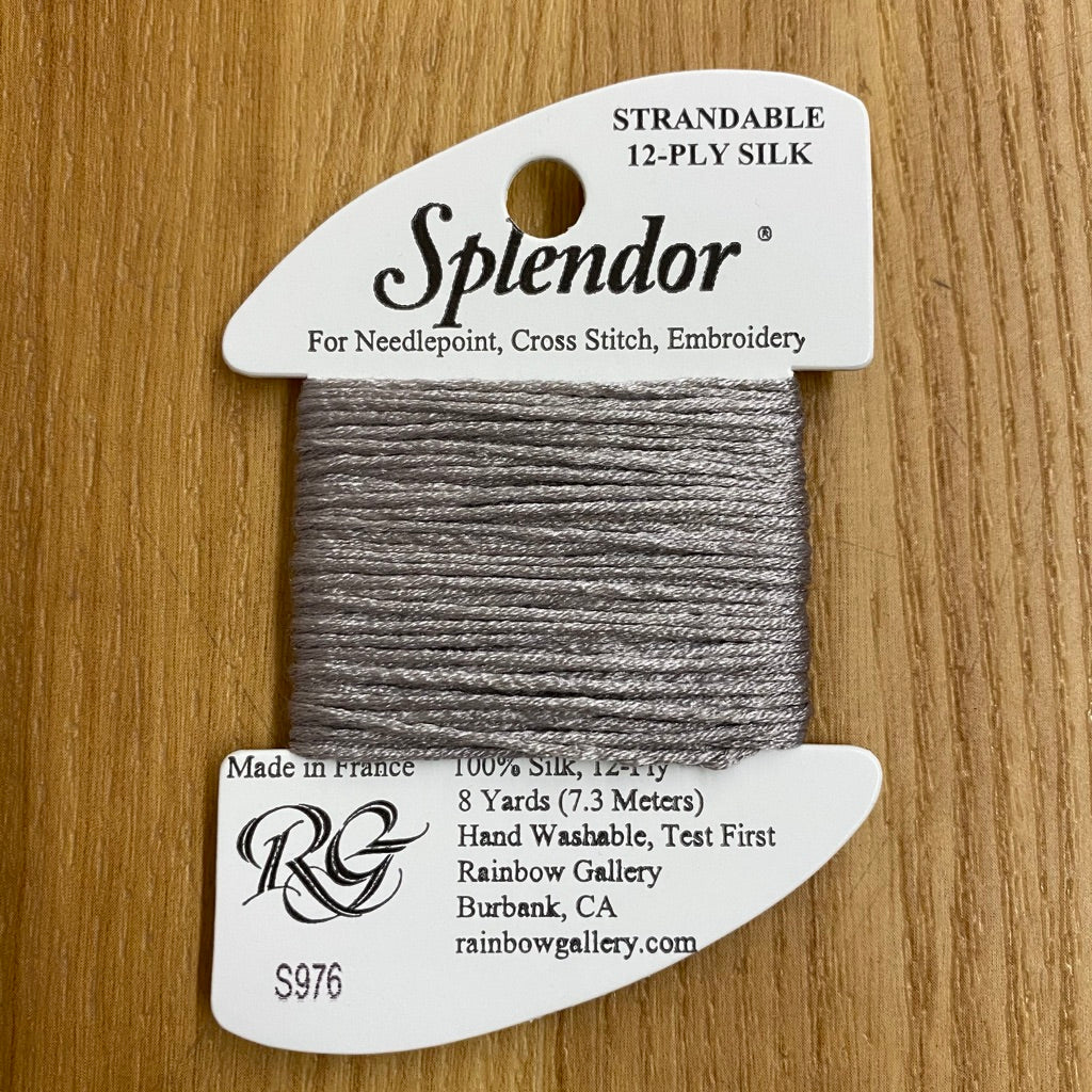 Splendor S976 Medium Pearl Gray - KC Needlepoint