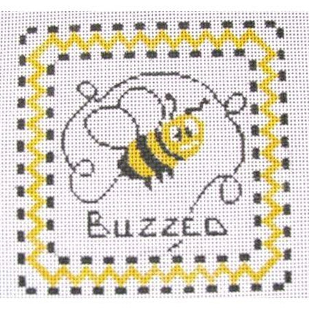 Buzzed Canvas-Needlepoint Canvas-Tina Griffin Designs-KC Needlepoint