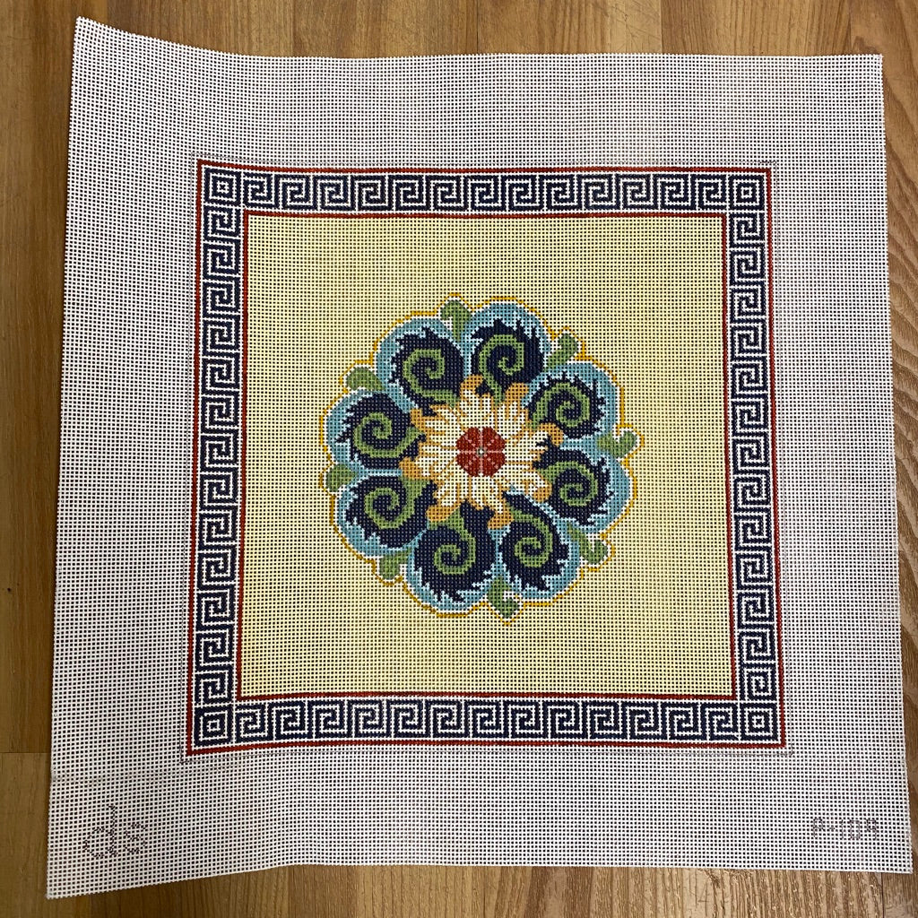 Medallion Needlepoint Canvas