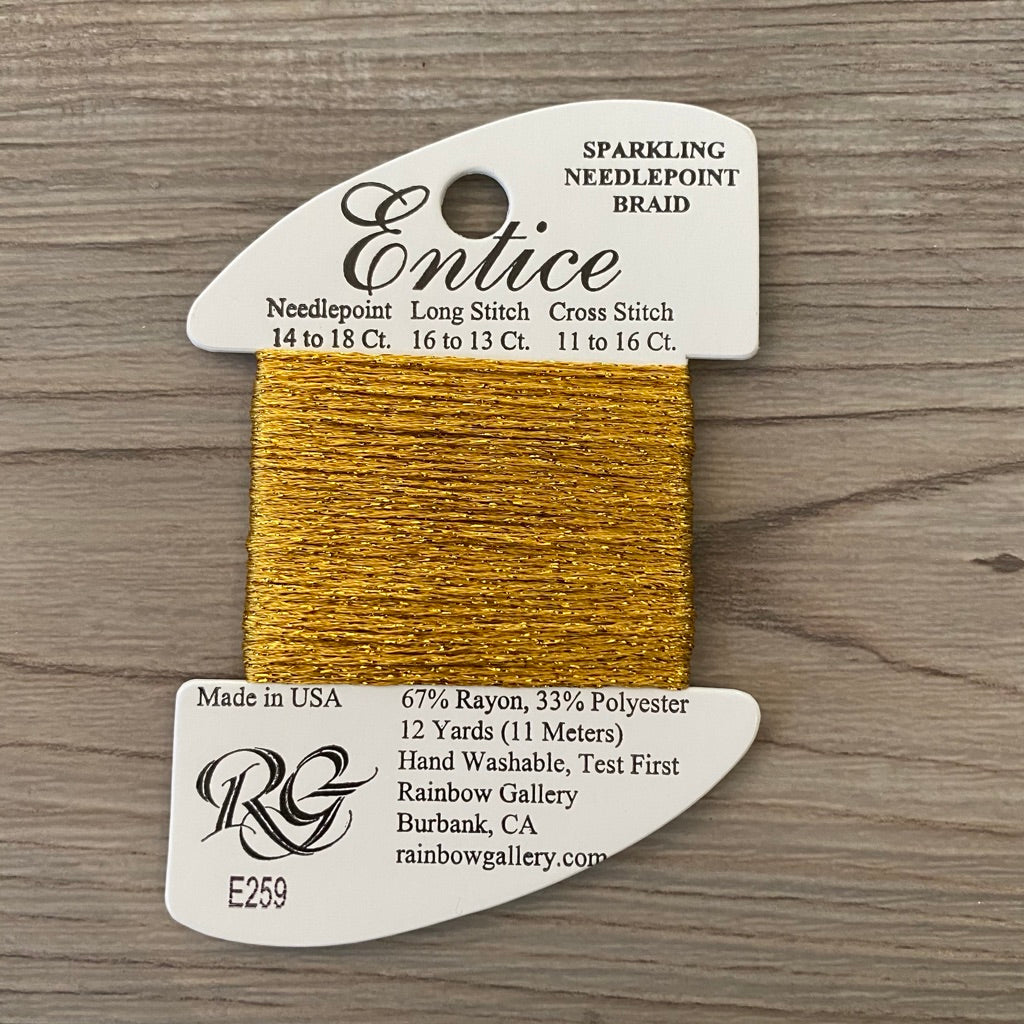 Entice E259 Honey Gold - needlepoint