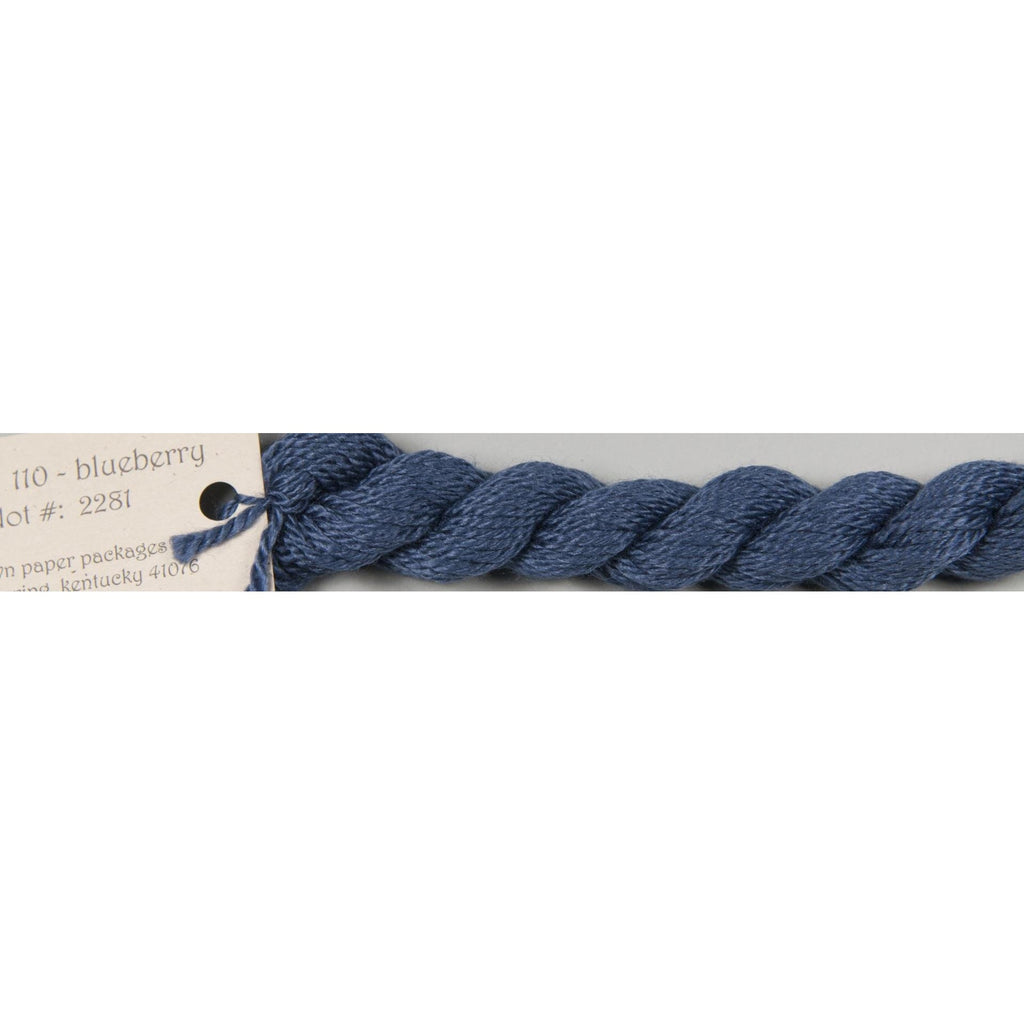 Silk & Ivory 110 Blueberry - needlepoint