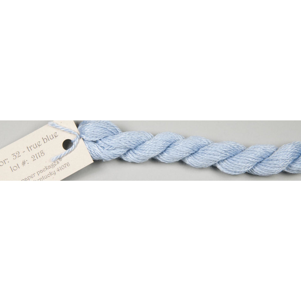 Silk & Ivory 32 True Blue - needlepoint