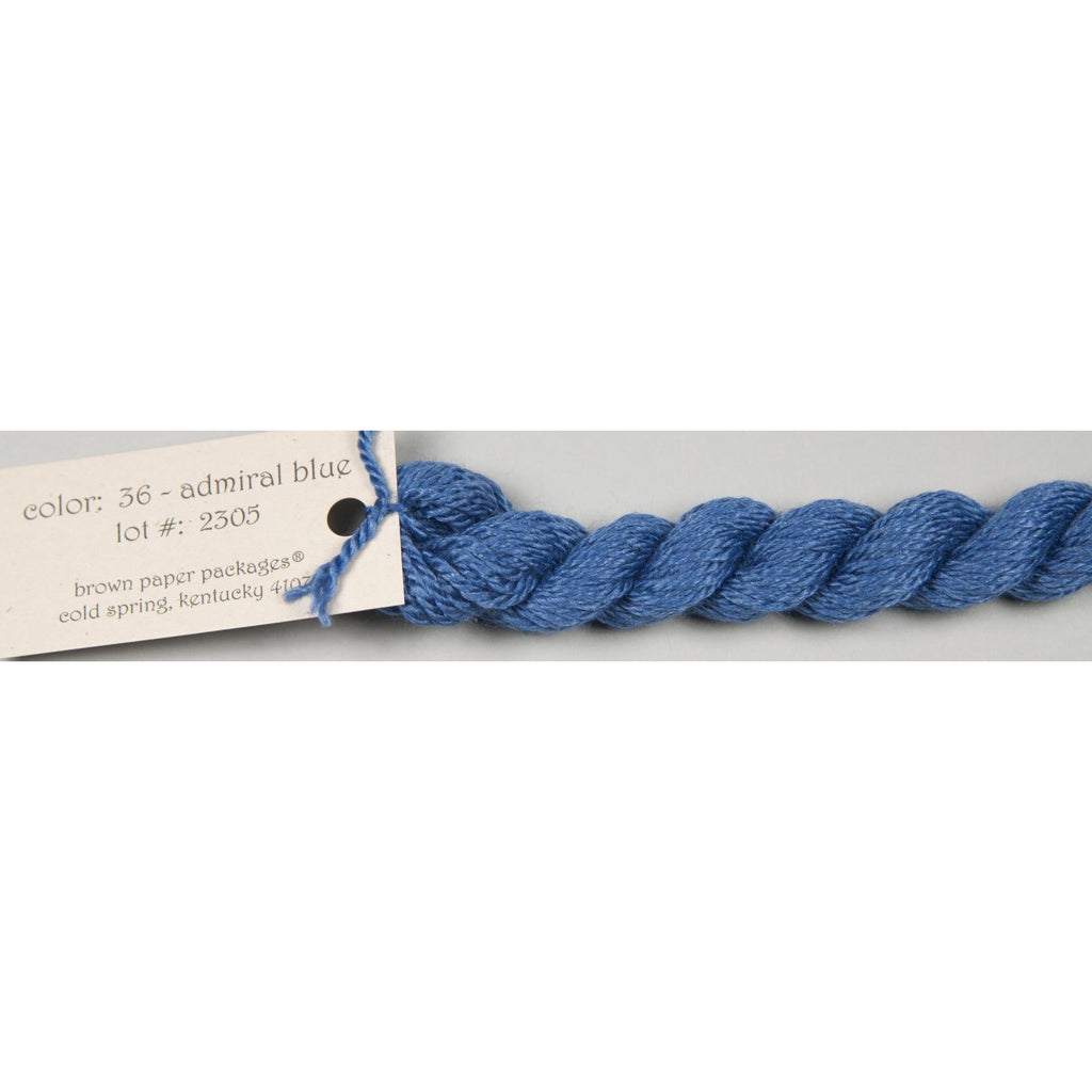 Silk & Ivory 036 Admiral Blue - needlepoint