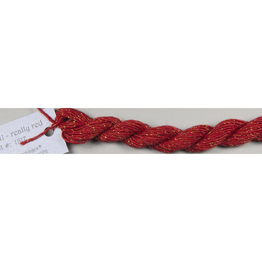 Stardust 511 Really Red - needlepoint