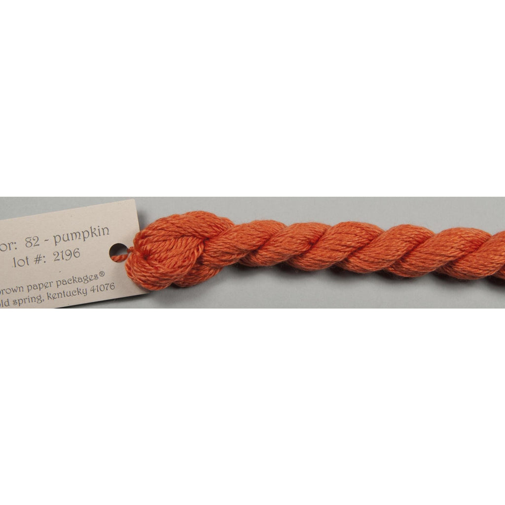 Silk & Ivory 82 Pumpkin - needlepoint