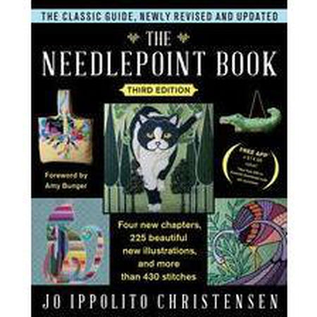 The Needlepoint Book by: Jo Ippolito Christensen-Accessories-June McKnight-KC Needlepoint