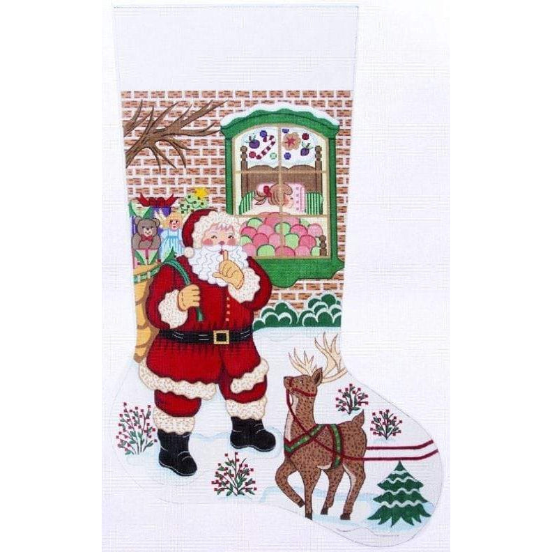 Alexa Needlepoint Stocking 7311-Needlepoint Canvas-Alexa Needlepoint Designs-KC Needlepoint