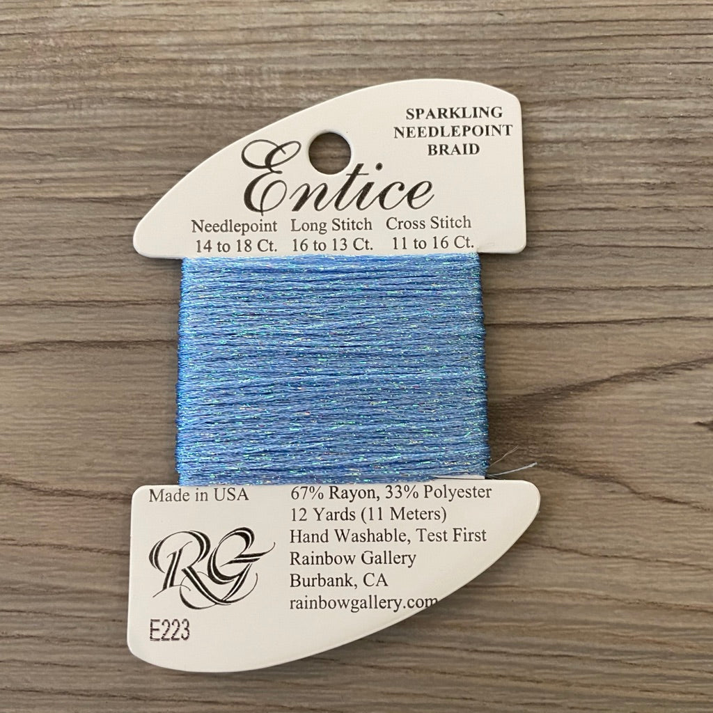 Entice E223 Forever Blue - KC Needlepoint