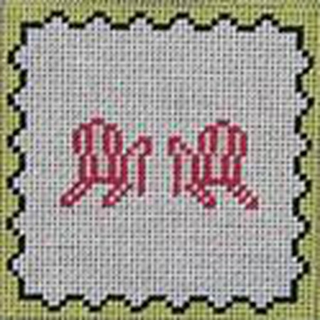 Chairs Square Canvas - needlepoint