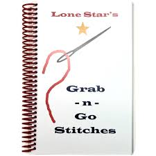 Lone Star's Grab N Go Stitches Book-Accessories-Caron Collection-KC Needlepoint