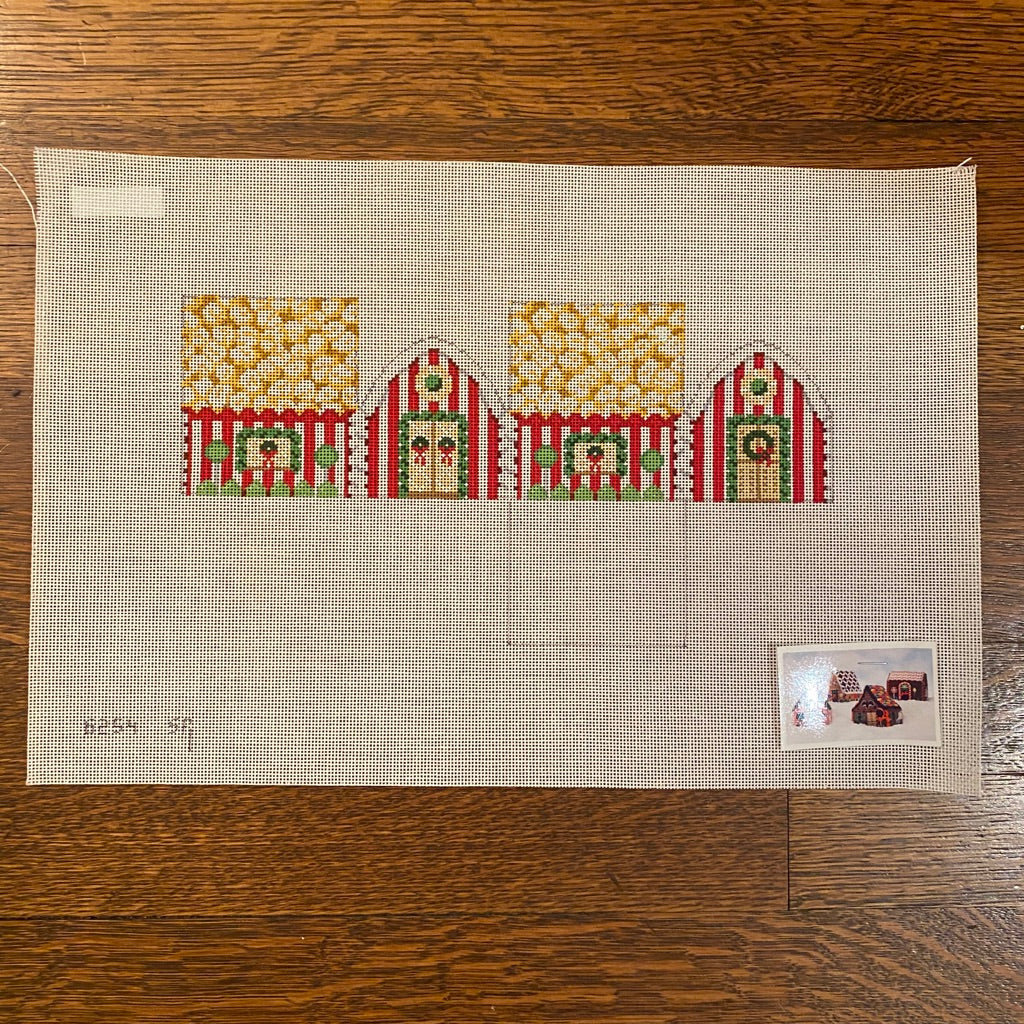 Popcorn 3D Gingerbread House Canvas