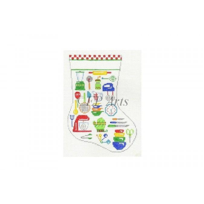 Kitchen Equipment Mini Stocking Canvas