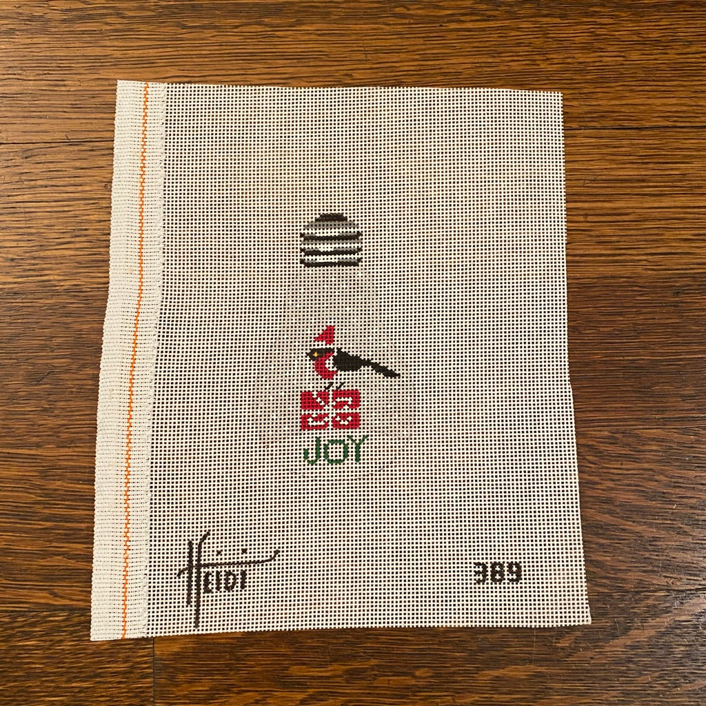 Joy Light Bulb Canvas-Needlepoint Canvas-KC Needlepoint
