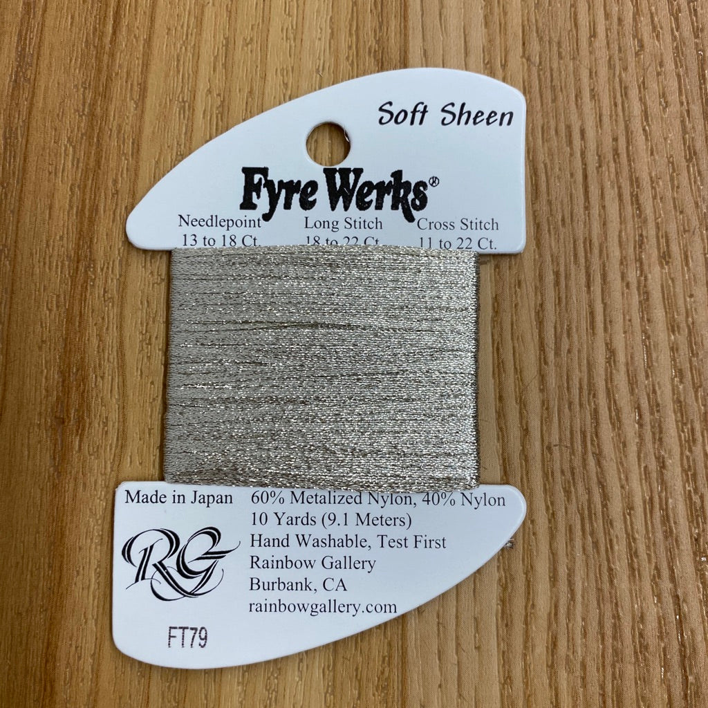 Fyre Werks Soft Sheen FT79 Champagne - needlepoint