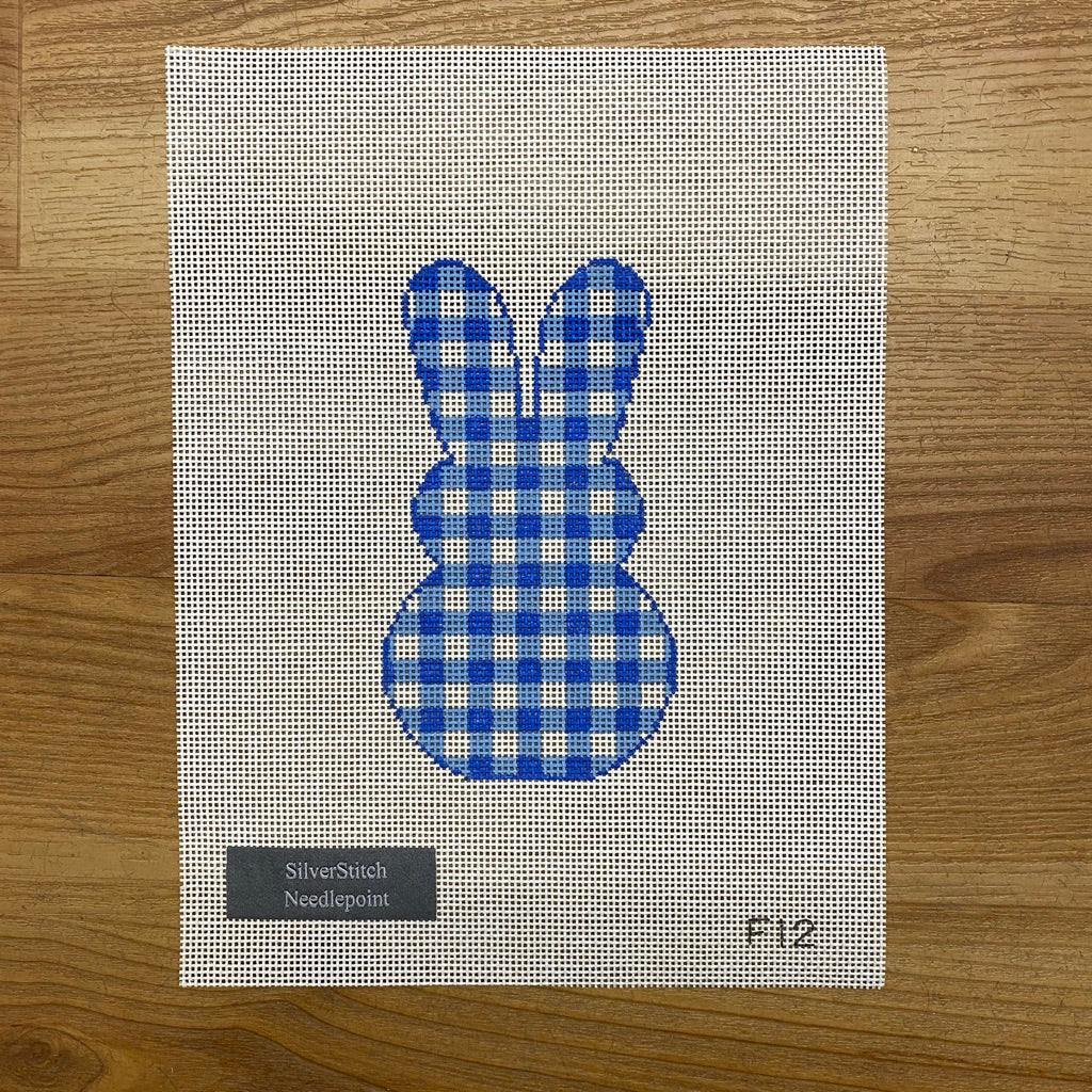 Gingham Bunny Canvas