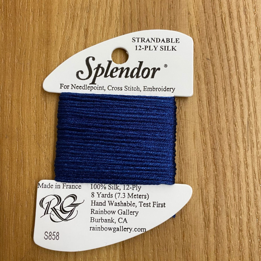 Splendor S858 Medium Navy - needlepoint