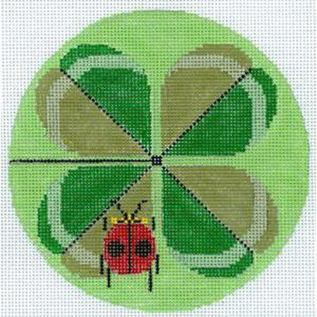 Double Lucky Canvas-Needlepoint Canvas-The Meredith Collection-KC Needlepoint