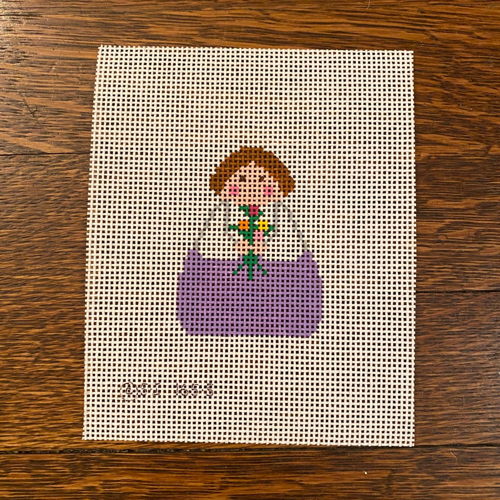 May Angel Canvas - needlepoint