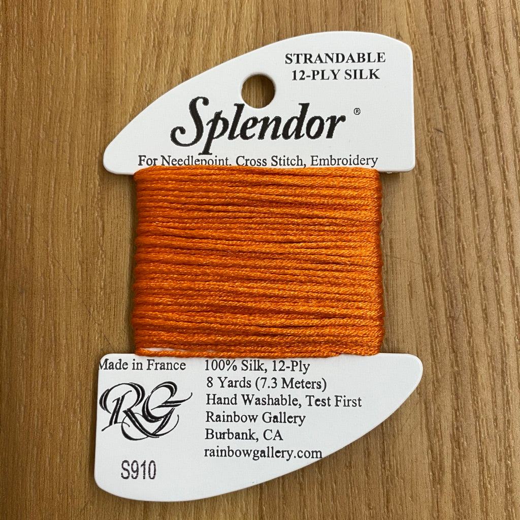 Splendor S910 Orange - needlepoint