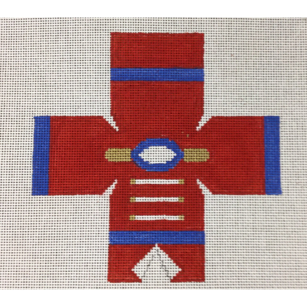 Nutcracker Topper Canvas-Needlepoint Canvas-Studio Midwest-13 mesh-KC Needlepoint