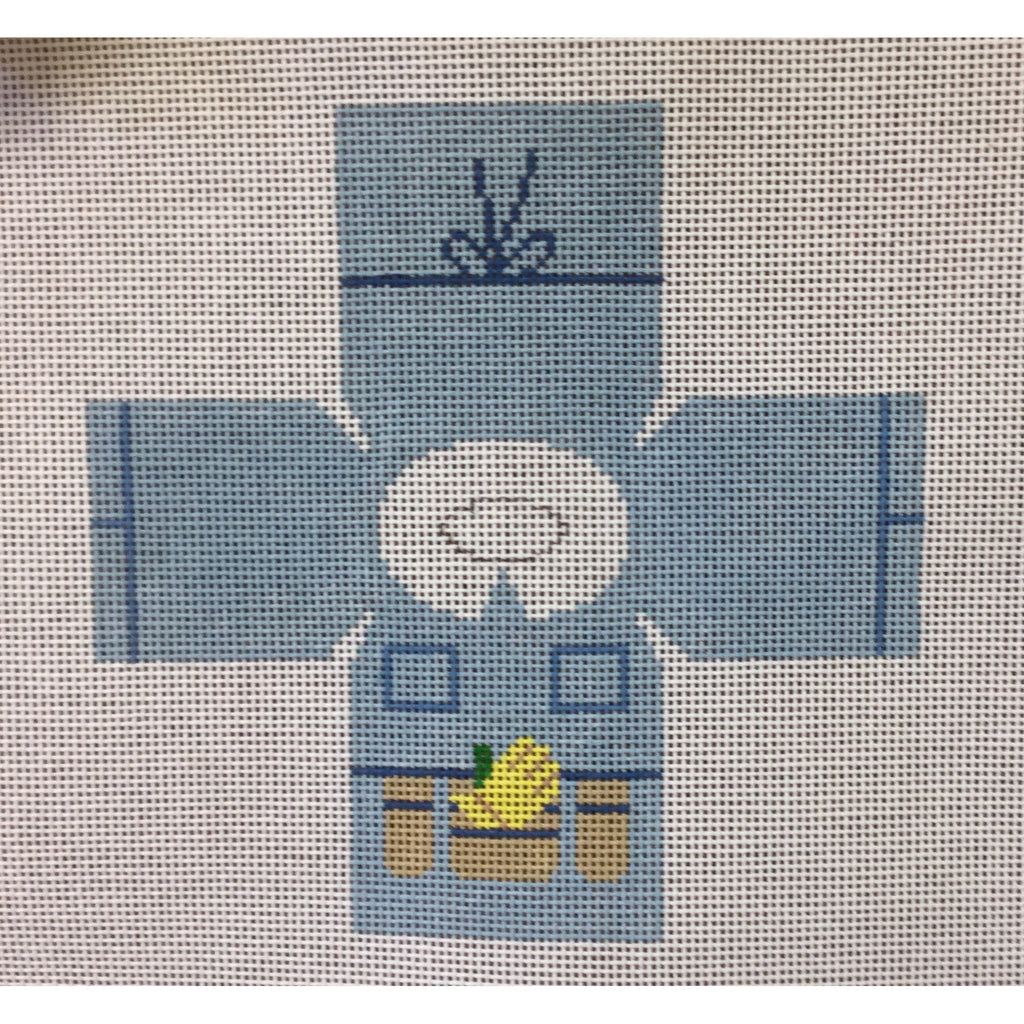 Gardener Topper Canvas - needlepoint