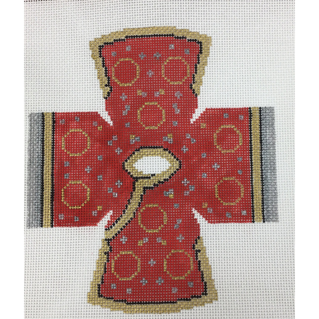 Chinese Coat Topper Canvas - needlepoint