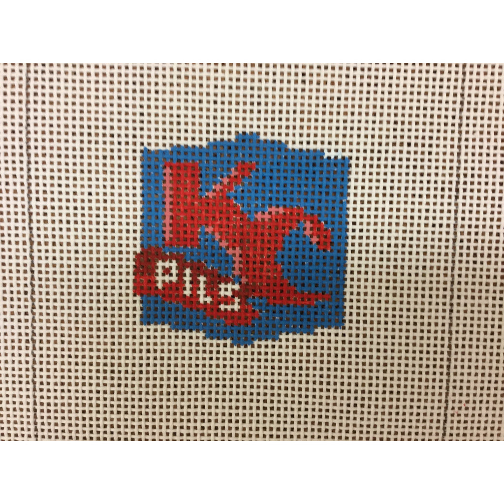 KC Pils Beer Coaster Canvas - needlepoint