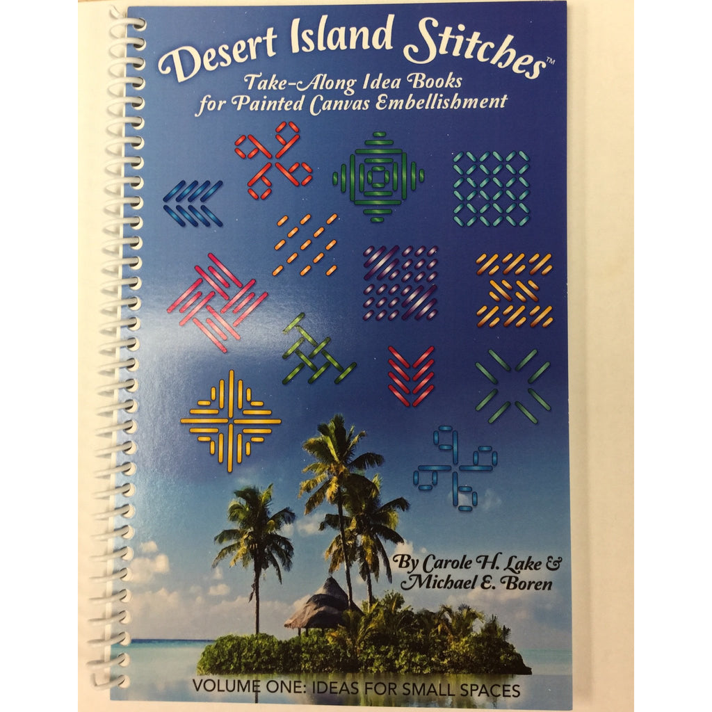 Desert Island Stitches Book-Accessories-Rainbow Gallery-KC Needlepoint