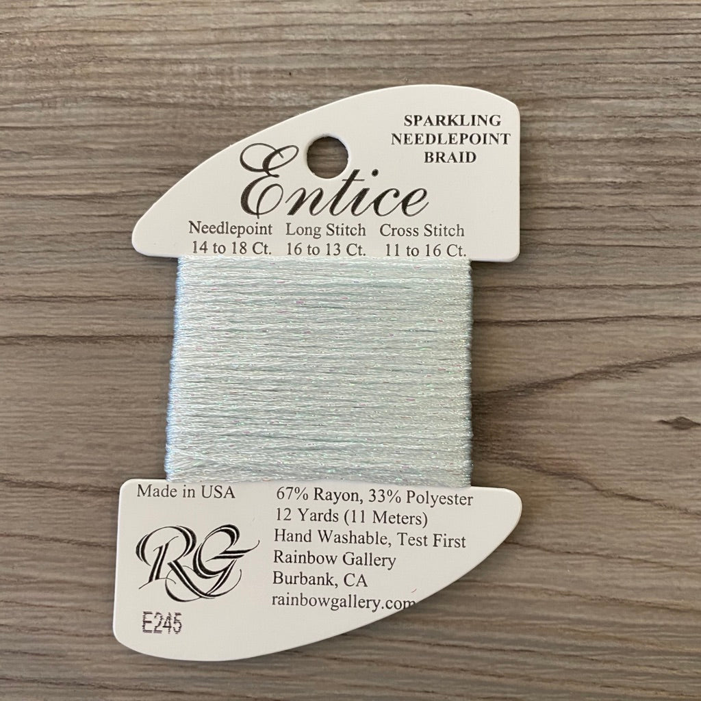 Entice E245 Whispering Blue - KC Needlepoint