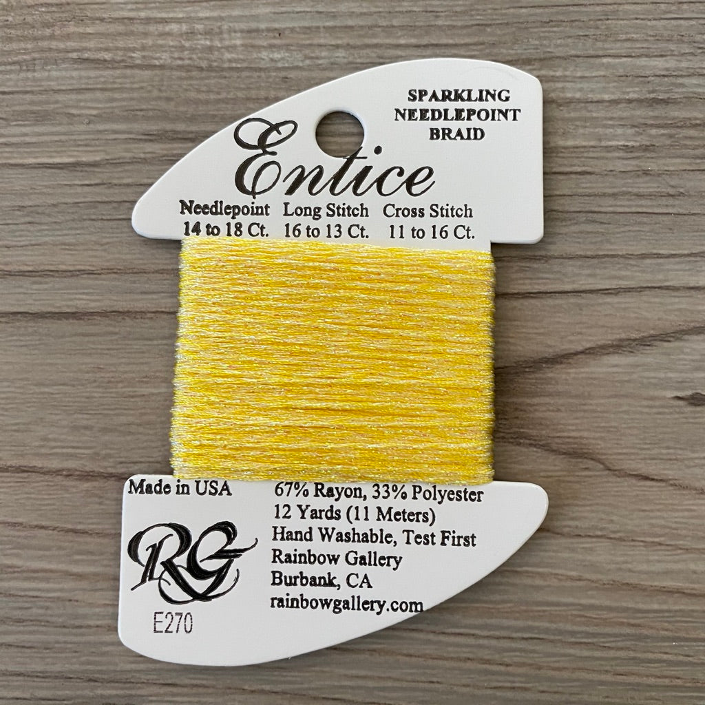 Entice E270 Rubber Ducky - KC Needlepoint