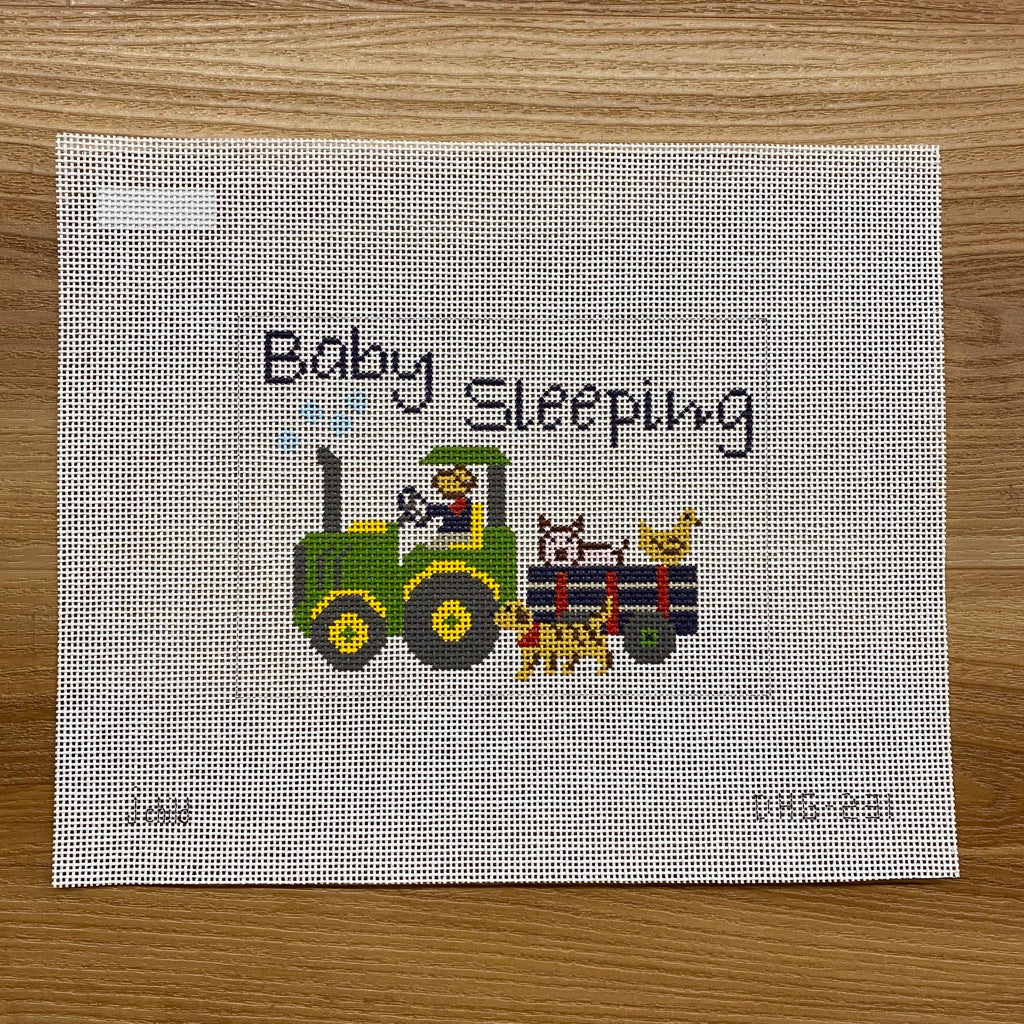Farmer Joe Baby Sleeping Canvas