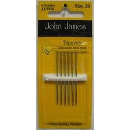 John James #20 Tapestry Needles - needlepoint