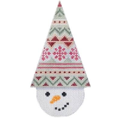Snowcone Fair Isle Canvas-Needlepoint Canvas-Kirk & Bradley-KC Needlepoint