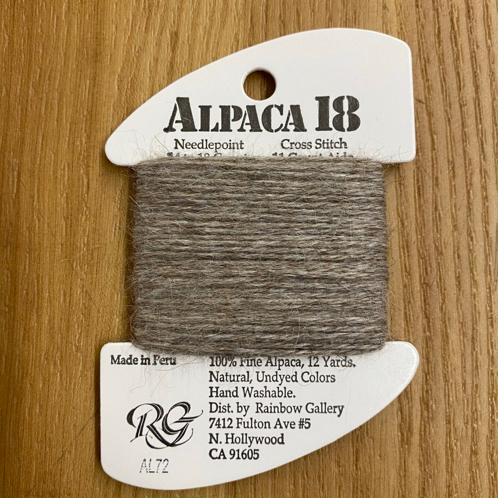 Alpaca 18 AL72 Medium Taupe - needlepoint