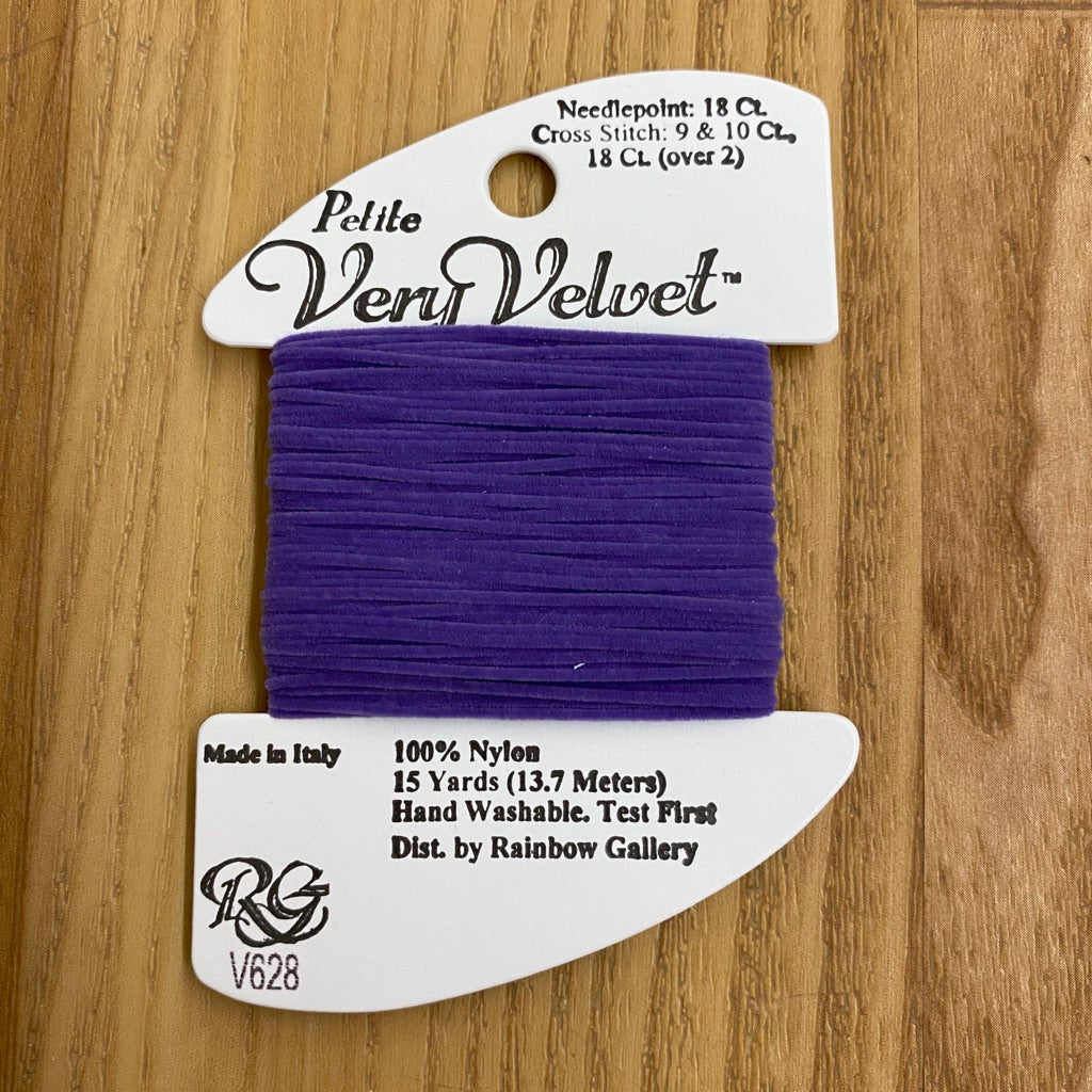 Petite Very Velvet V628 Violet - KC Needlepoint