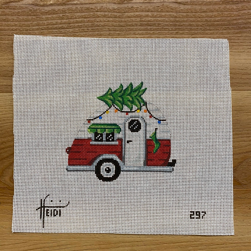 Christmas Camper Canvas