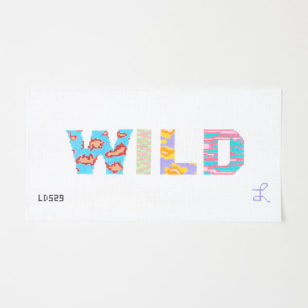 Wild Needlepoint Canvas