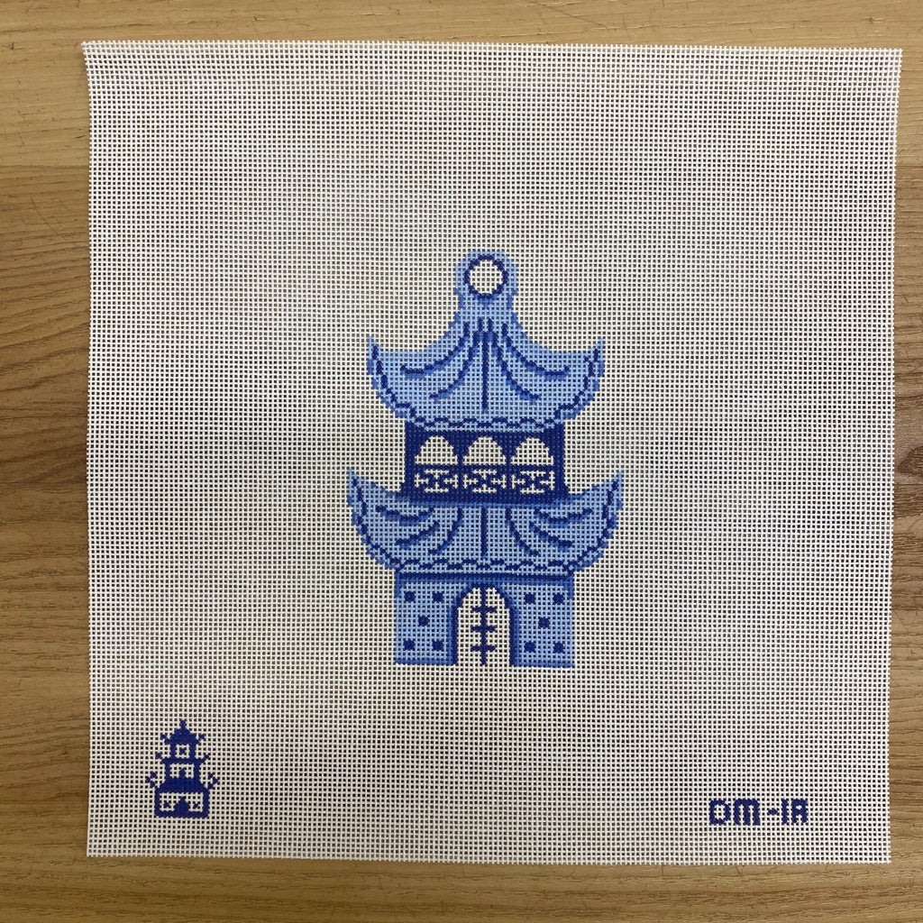 Pagoda Needlepoint Canvas