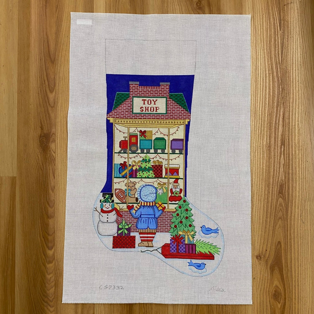 Alexa Christmas Stocking 7332 - KC Needlepoint