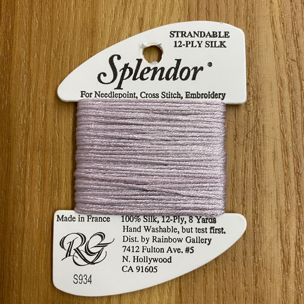 Splendor S934 Pale Amethyst - needlepoint