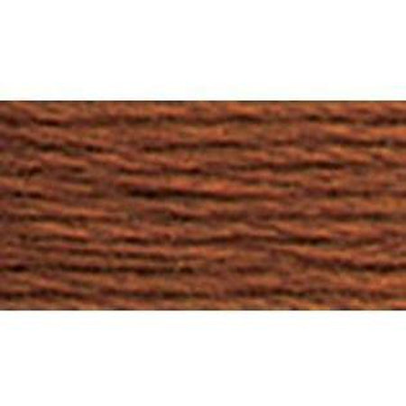 DMC 3 Pearl Cotton 975</br>Dark Golden Brown - needlepoint