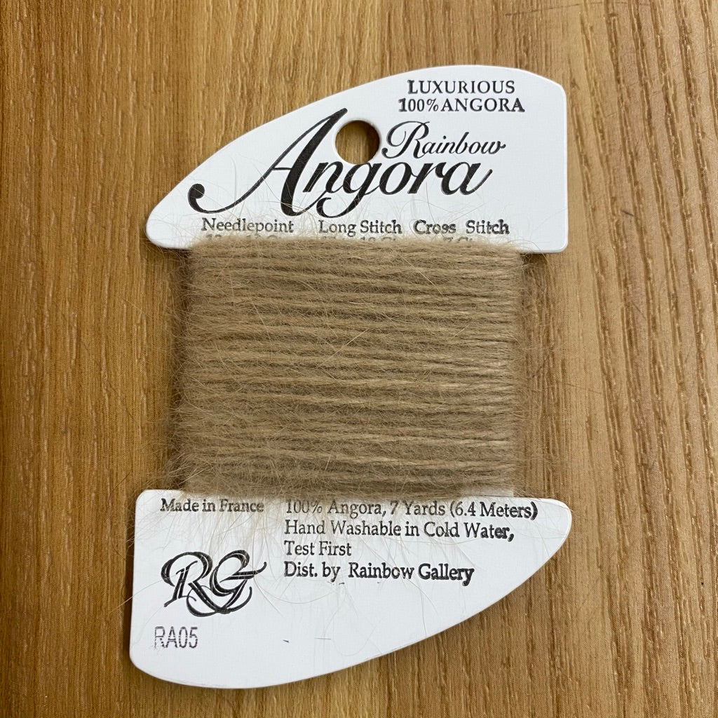 Rainbow Angora RA05 Beige - KC Needlepoint